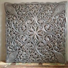 Grijs houten wandpaneel